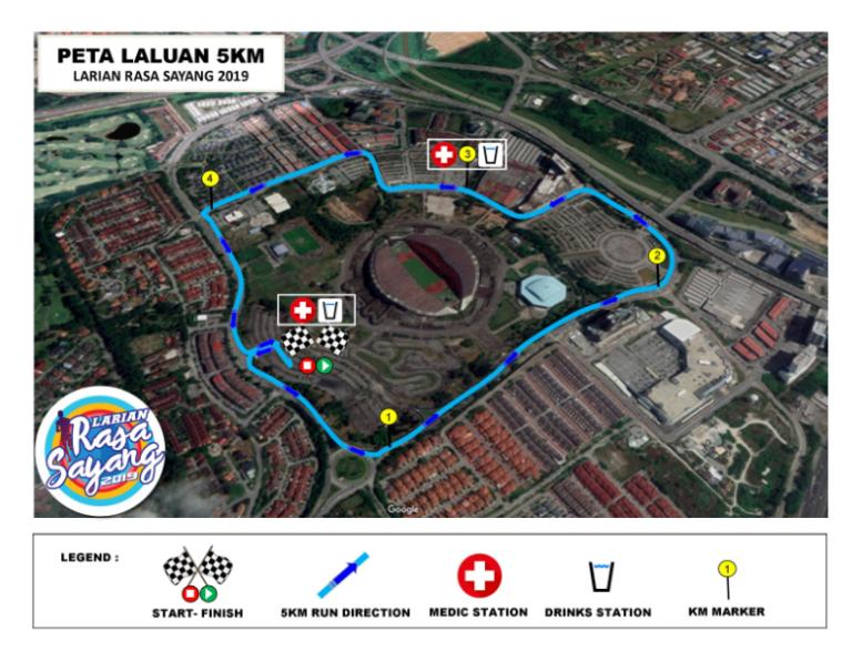 LRS-route-5km